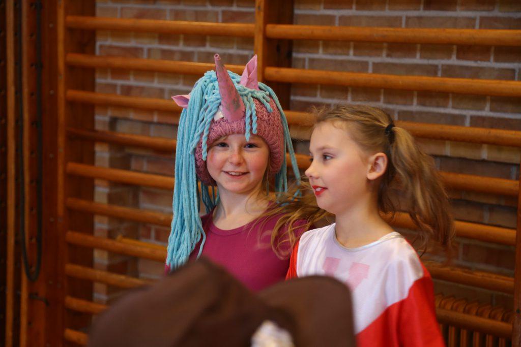 Udklædte elever fra Herkules