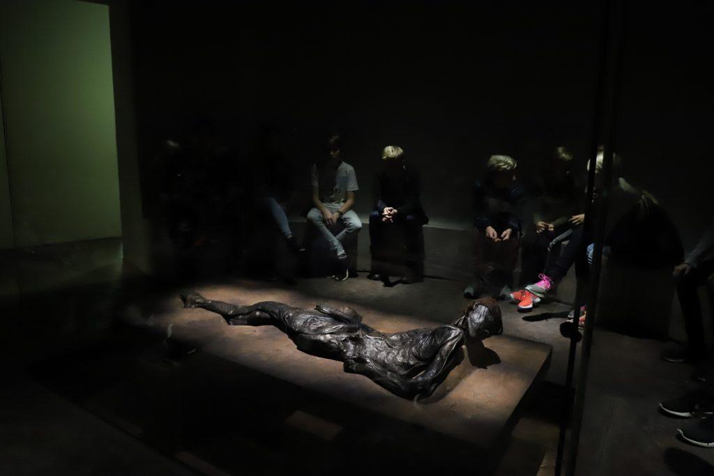 Grauballemanden på Moesgaard museum