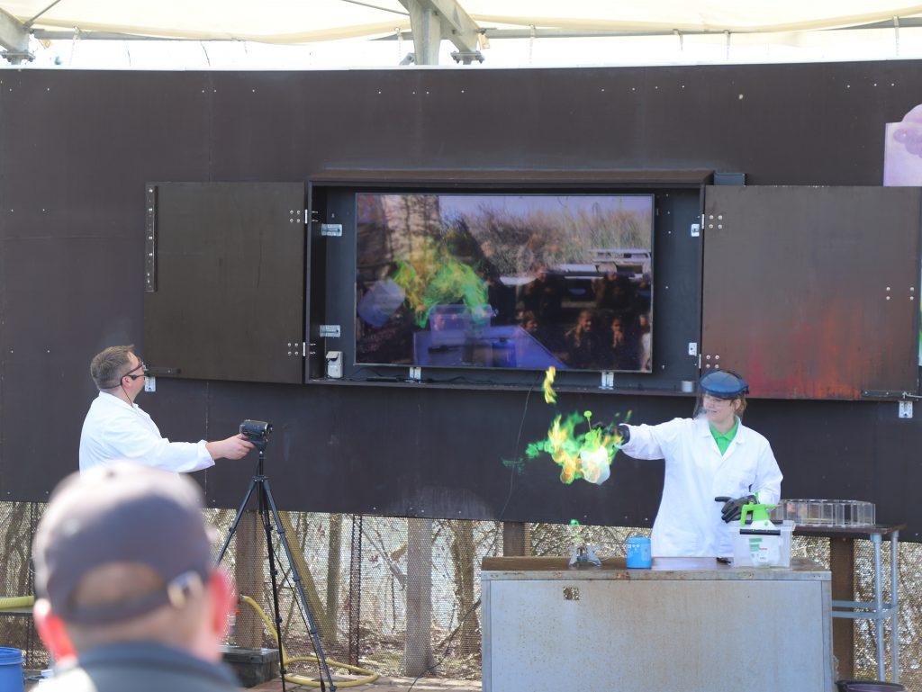 Der var også Science Show på programmet