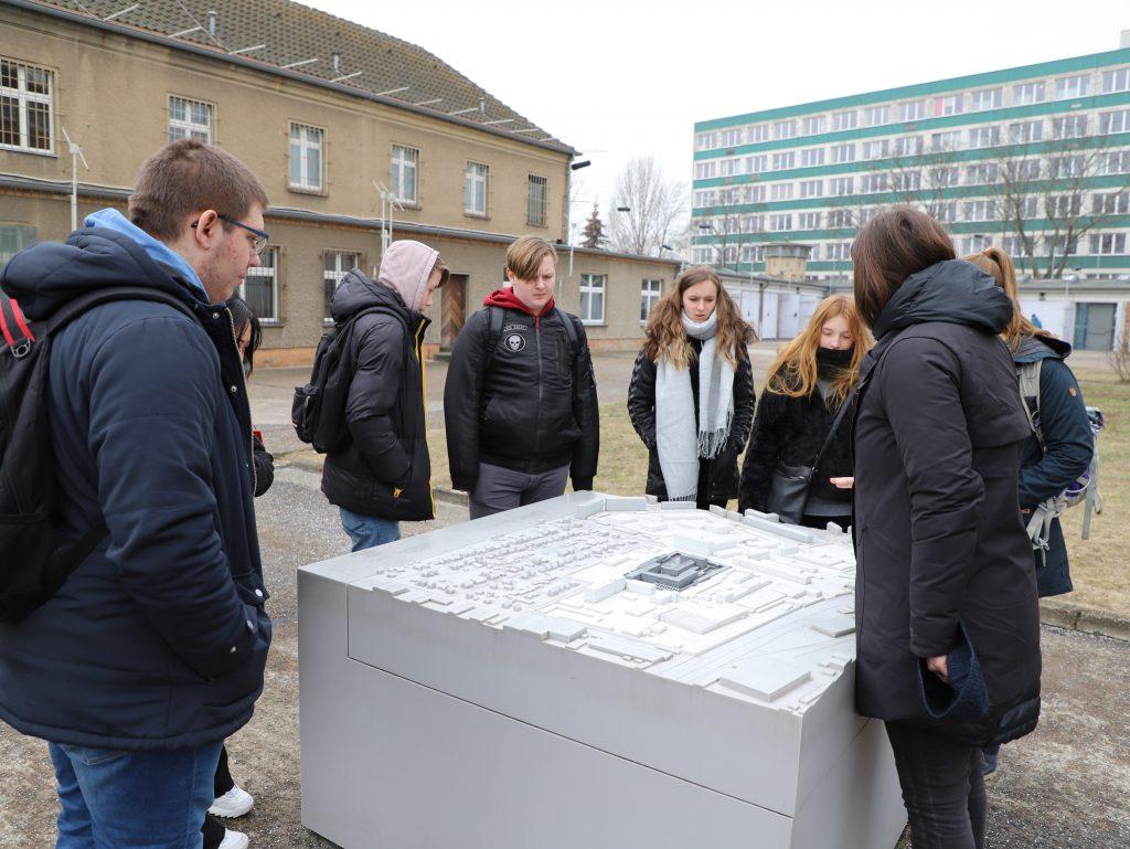 Eleverne fik også besøgt Stasi Fængslet i Berin