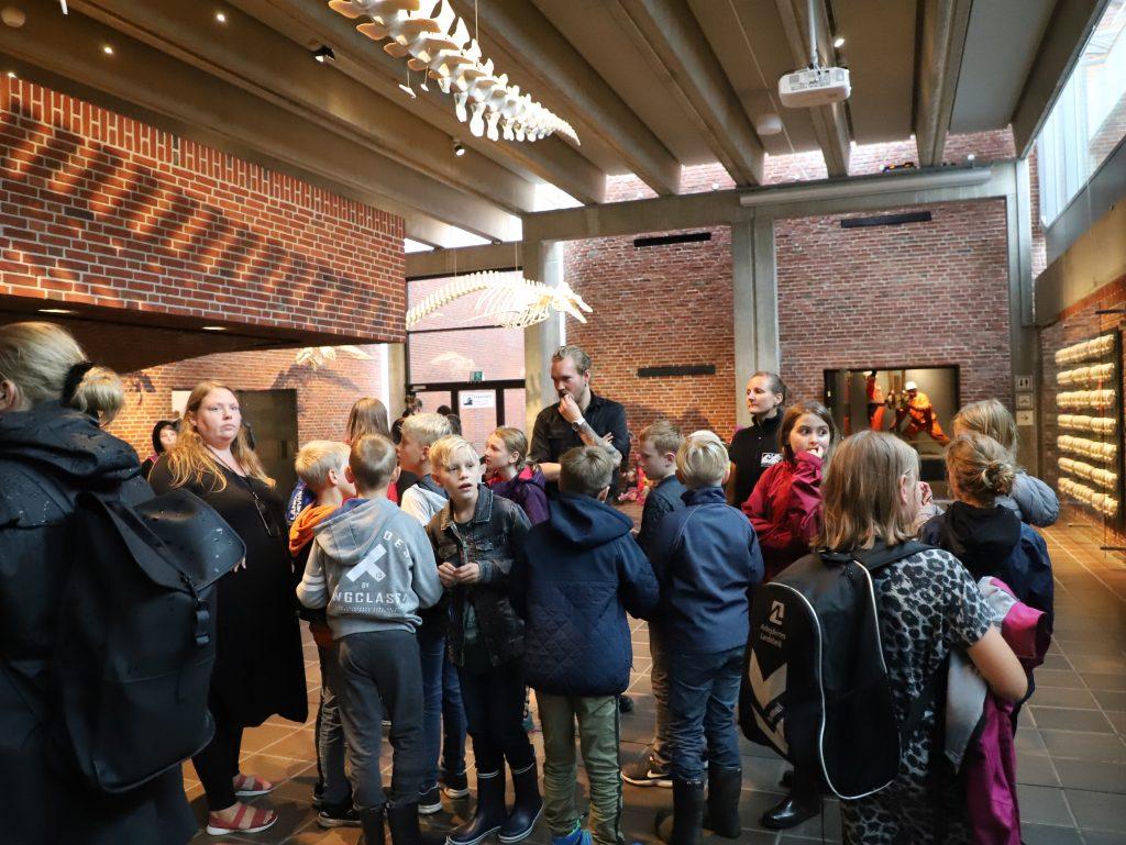 Første stop var Søfarts- og Fiskerimuseet i Esbjerg