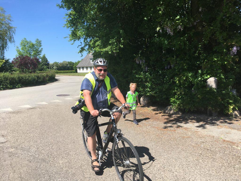 Skolelederen på cykel
