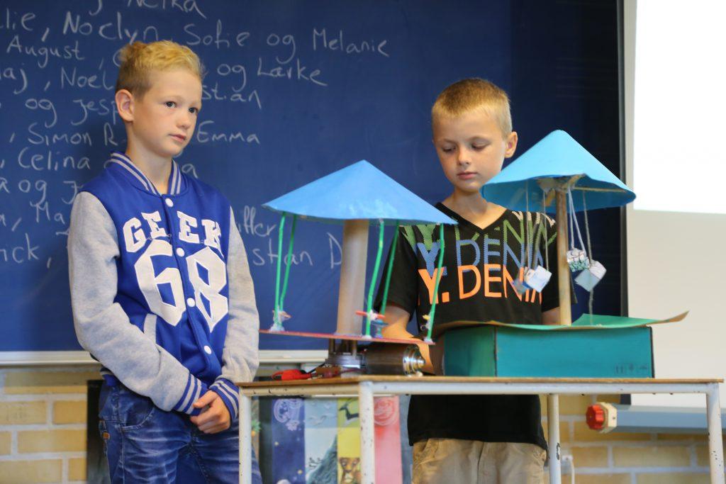 Projektpræsentation fra elever i Store Bjørn