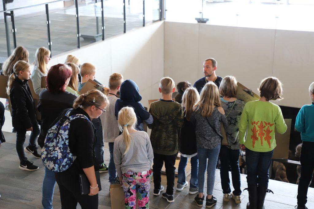 Udflugt til Moesgaard museum