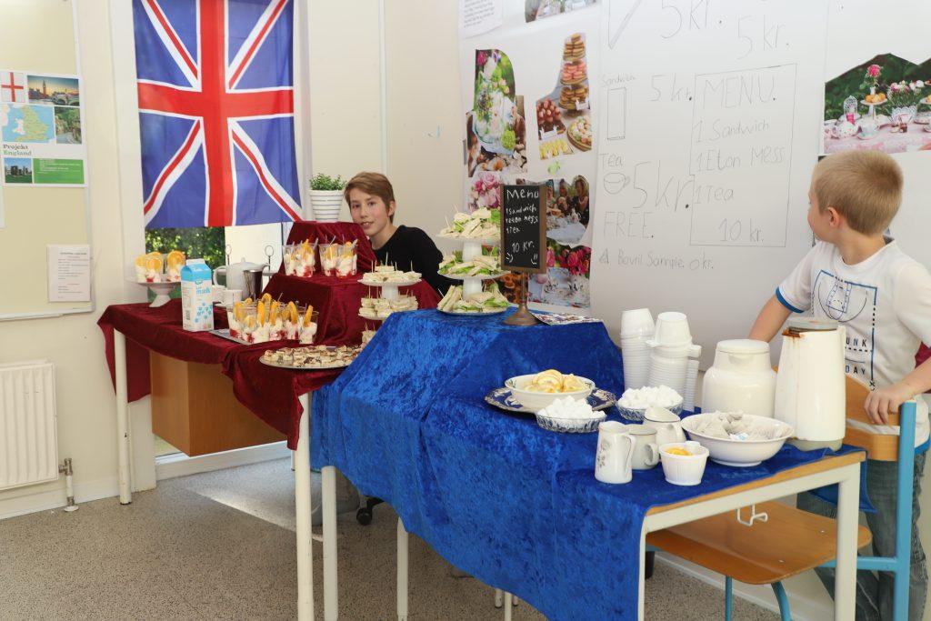 Stort udvalg af mad i Storbritanien