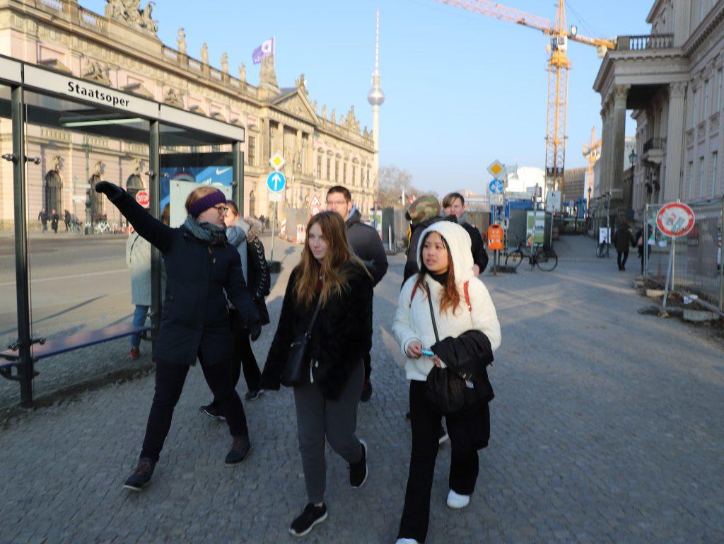 Berlin blev flittigt udforsket