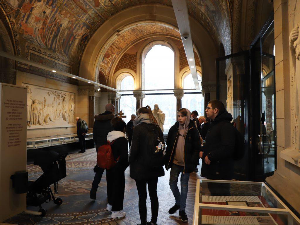 Berlin Gedächtniskirche blev også besøgt