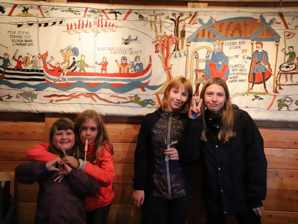 Anden bød på historie i Bork Vikingehavn