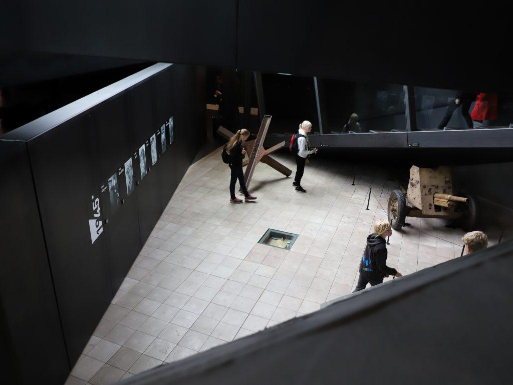 Tredje dag bød på WWII i Tirpitz Museum i Blåvand